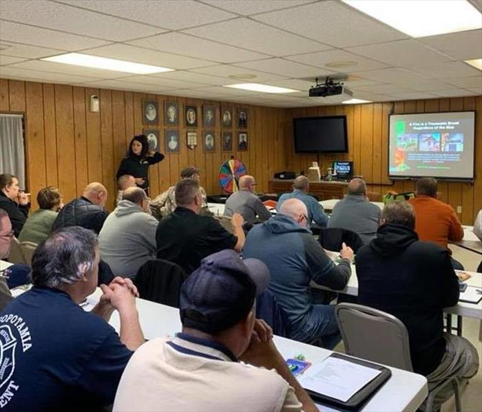 Fire Damage Trumbull County Fire Chiefs' Association Meeting